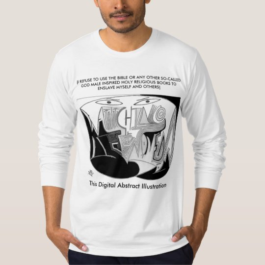 Digital Abstract Illustration Divine 6x40 DAI T-Shirt