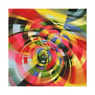 Digital  Abstract No2 Canvas Print