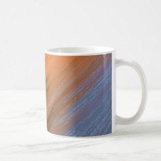Digital Abstract Painting Basic White Mug