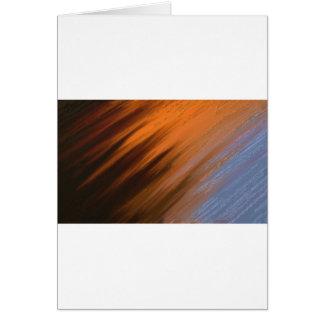 Digital Abstract Painting Greeting Card