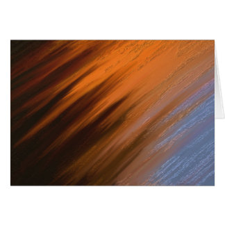 Digital Abstract Painting Note Card