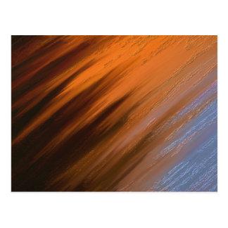 Digital Abstract Painting Postcard