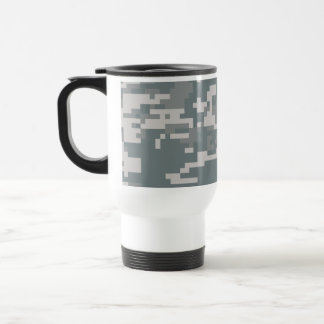 Digital ACU Camoflage Travel Mug