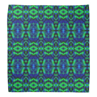 Digital Art Cool Modern Abstract Pattern Bandana
