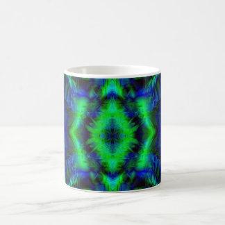 Digital Art Cool Modern Abstract Pattern Coffee Mug