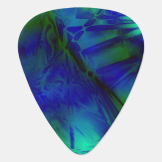 Digital Art Cool Modern Abstract Pattern Plectrum