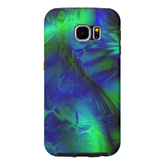 Digital Art Cool Modern Abstract Pattern Samsung Galaxy S6 Cases