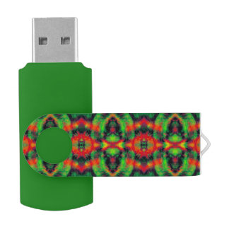 Digital Art Cool Modern Abstract Unique USB Flash Drive