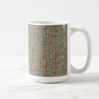 Digital Art Gliftex Abstract Basic White Mug