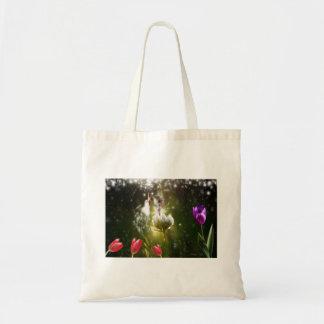 Digital Art: Happiness Tote Bag
