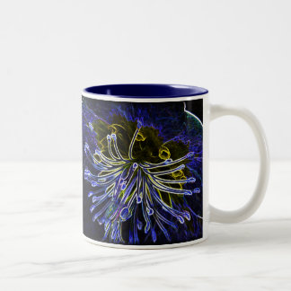 Digital art hellebore mug