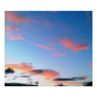 digital art morning sky photography poster