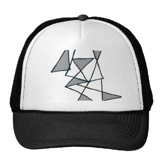 digital art triangle 1604 cap