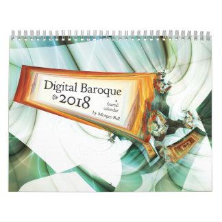Digital Baroque 2018 Calendar