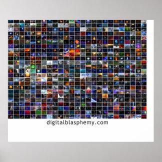 Digital Blasphemy 25 x 25 Posters
