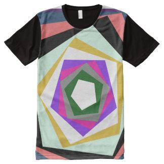 Digital Bloom T shirt All-Over Print T-Shirt
