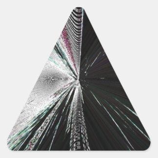 Digital Bug Triangle Sticker