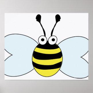 Digital Bumblebee Print