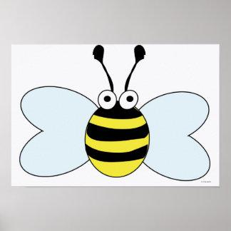 Digital Bumblebee Poster
