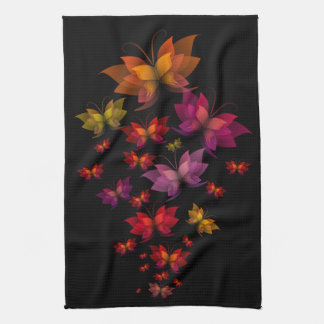 Digital Butterflies Kitchen Towel
