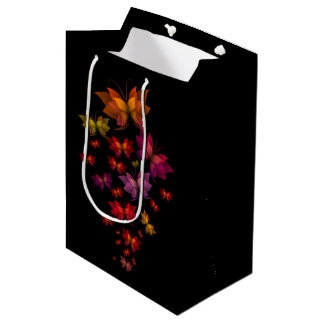 Digital Butterflies Medium Gift Bag