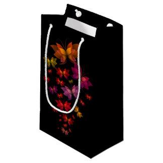 Digital Butterflies Small Gift Bag