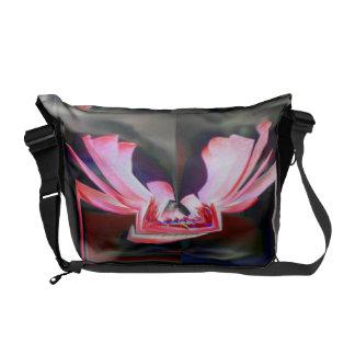Digital Buttterfly Messenger Bag