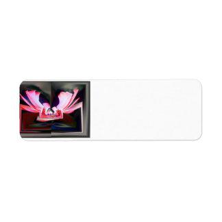 Digital Buttterfly Return Address Label