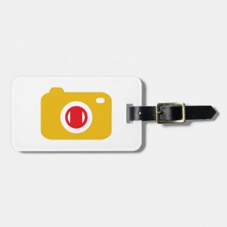 Digital camera luggage tag