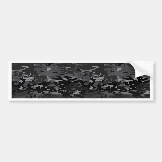 Digital Camo Bumper Sticker