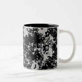 Digital Camo Two-Tone Mug