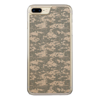 Digital Camouflage Carved iPhone 8 Plus/7 Plus Case