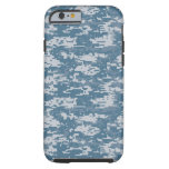 Digital Camouflage Naval Tough iPhone 6 Case