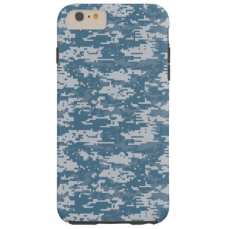 Digital Camouflage Naval Tough iPhone 6 Plus Case