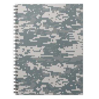 Digital Camouflage Notebook