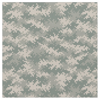 Digital Camouflage Pattern Fabric Design