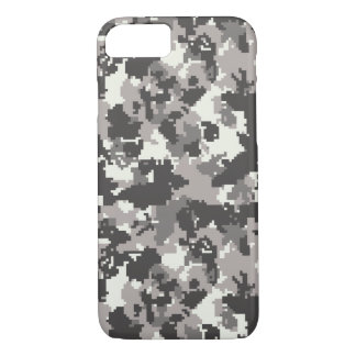 Digital camouflage pattern iPhone 7 case