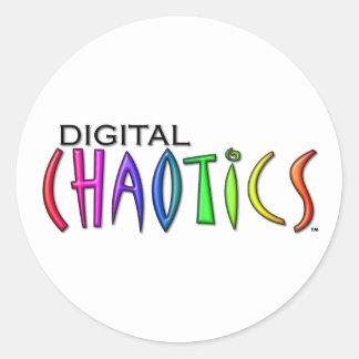 digital-chaotics-1920x1080 round sticker