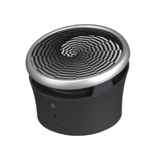 Digital Checker Yin Yang Spiral Bluetooth Speaker