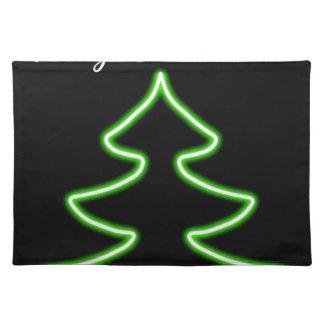 Digital Christmas tree Placemat