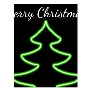 Digital Christmas tree Postcard