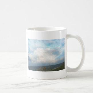Digital Clouds Mug Basic White Mug