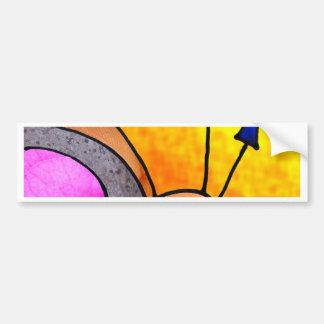 digital collage bumper stickers