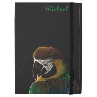 Digital colorful parrot fractal