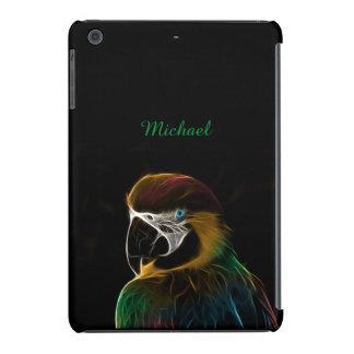 Digital colorful parrot fractal iPad mini retina cover