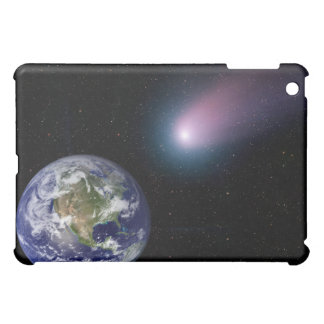Digital composite of a comet heading towards Ea iPad Mini Covers