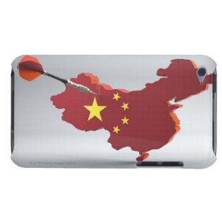 Digital Composite of China Barely There iPod Cover