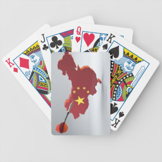 Digital Composite of China Bicycle Playing Cards