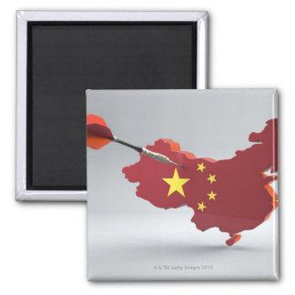 Digital Composite of China Magnet