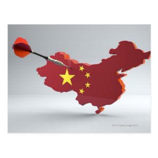 Digital Composite of China Postcard